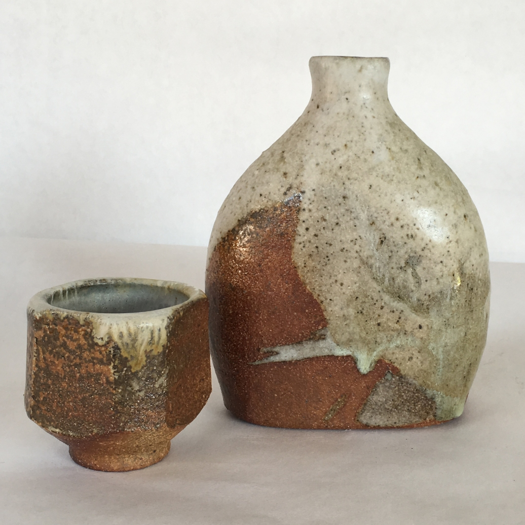 I Drink Alone, Wood fired stoneware