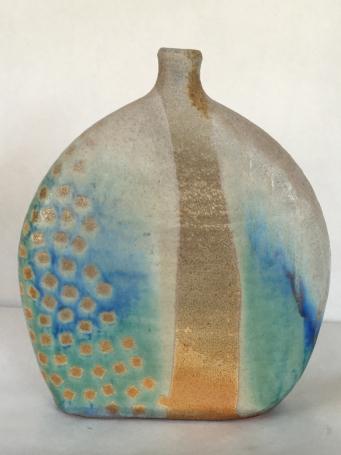 Kimono, Wood fired stoneware