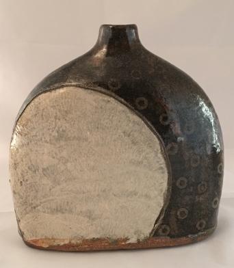 Moon Rising, Wood fired stoneware